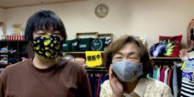 オリジナルマスク鎌倉親子