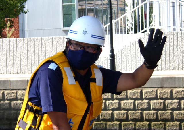 オリジナルマスク 第五管区海上保安本部に所属する職員有志