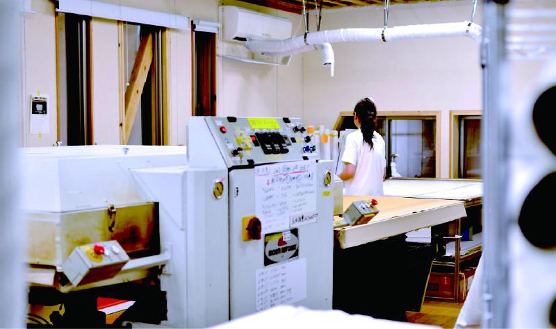 昇華転写印刷室
